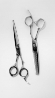 Set of cutting and thinning shears - 'D1' + 'E2'